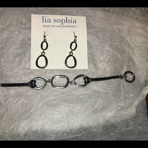 COPY - Vintage earrings bracelet set rare lia Sop…